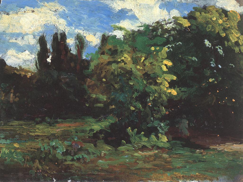 Forest Landscape 1880 90 | Bertalan Szekely | Oil Painting