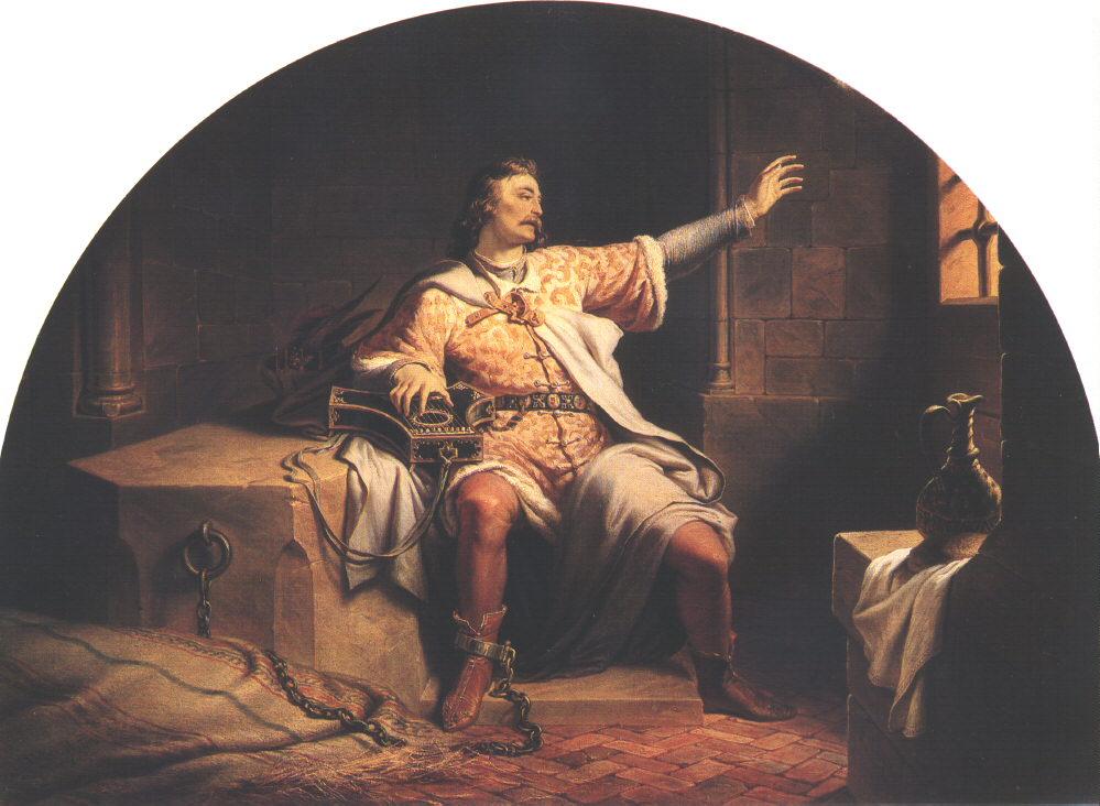 King Solomon in the Prison 1847 | Henrik Weber | Oil Painting