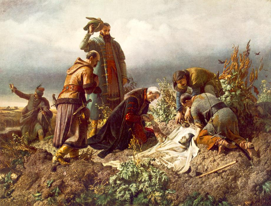 Discovery of the Body of King Louis the Second 1860 | Bertalan Szekely | Oil Painting