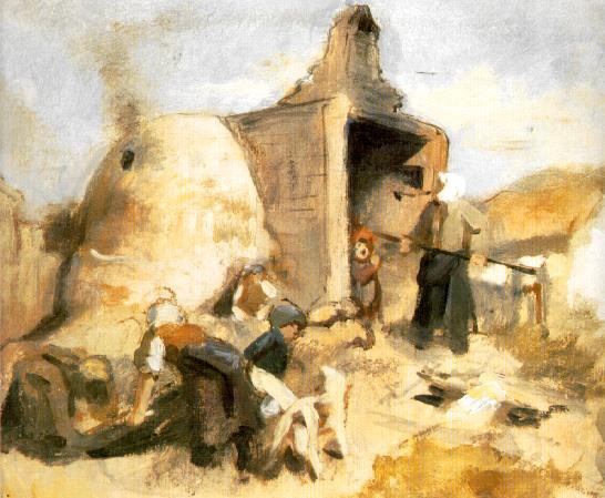 Brickburners 1857 | Bertalan Szekely | Oil Painting