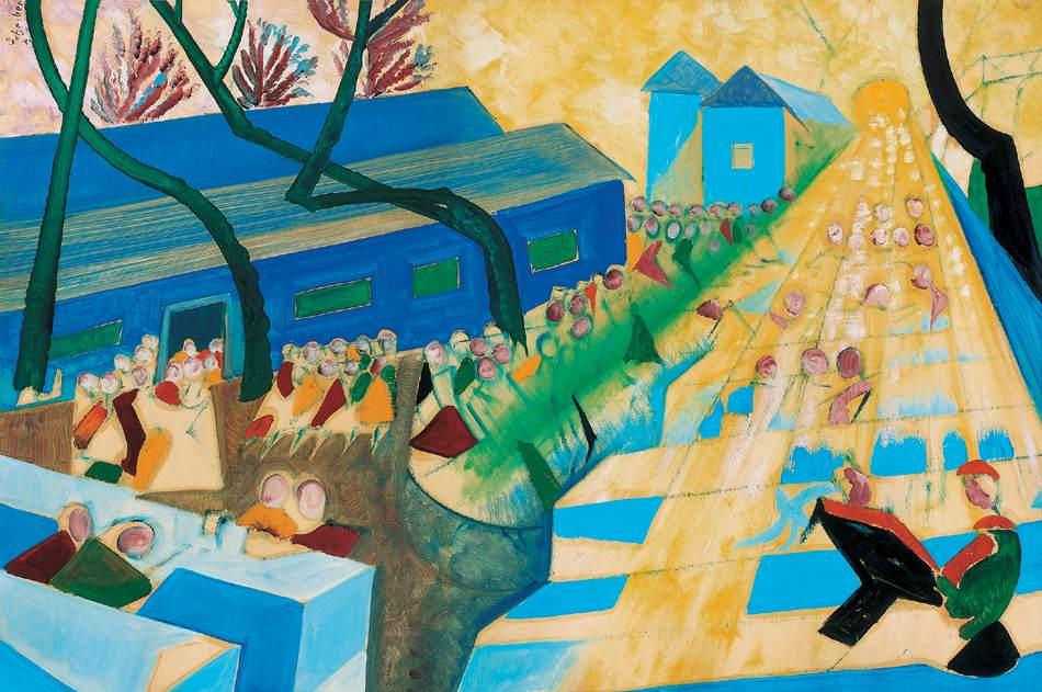 Streak of Light | Hugo Scheiber | Oil Painting
