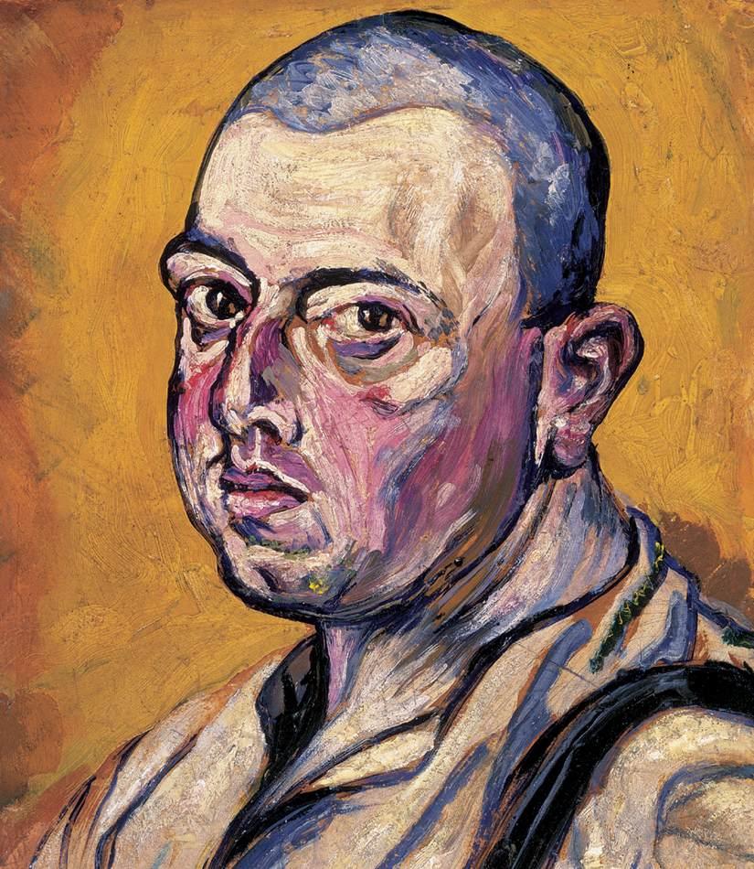Self-portrait   Hugo Scheiber   Oil Painting
