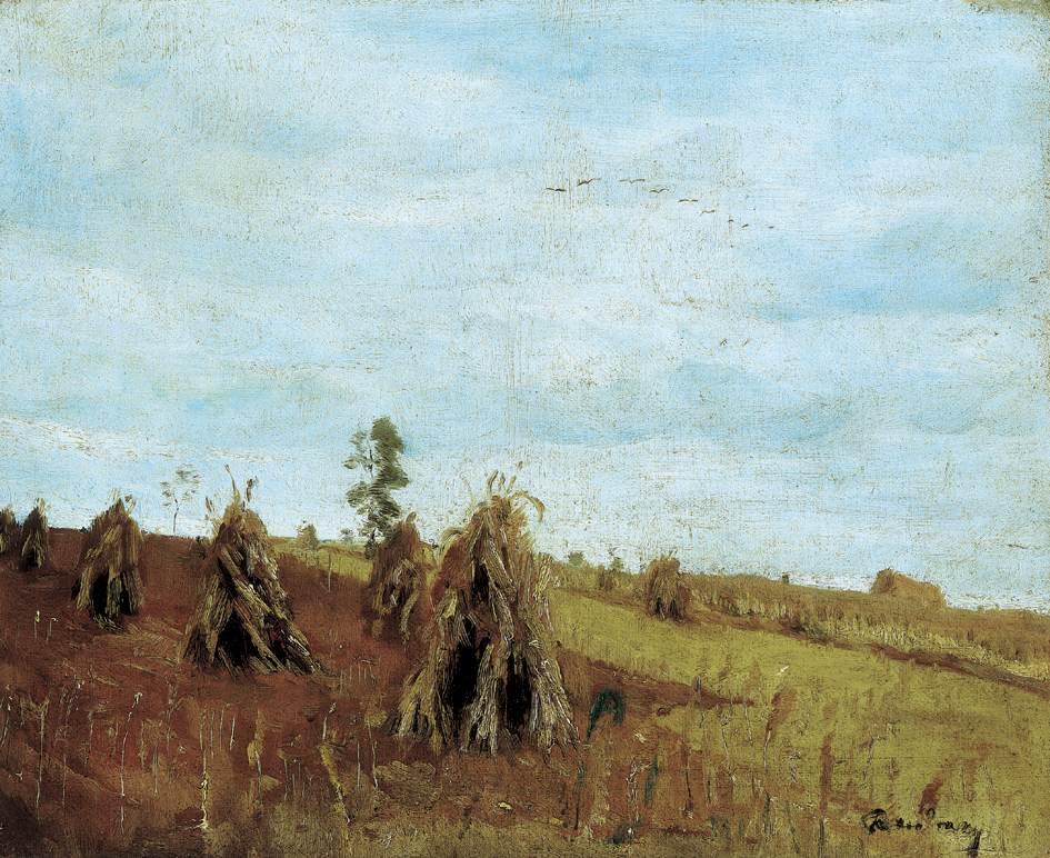 Brownish Landscape | Gyula Rudnay | Oil Painting