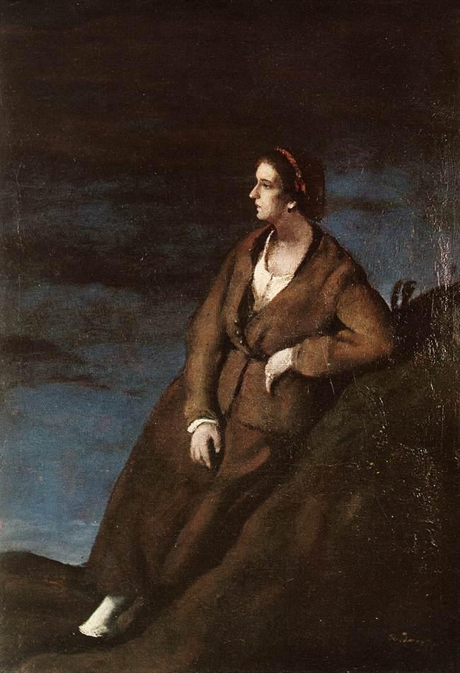 Resting Woman 1910s   Gyula Rudnay   Oil Painting