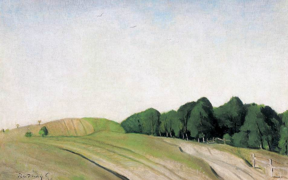 Hilly Landscape | Gyula Rudnay | Oil Painting