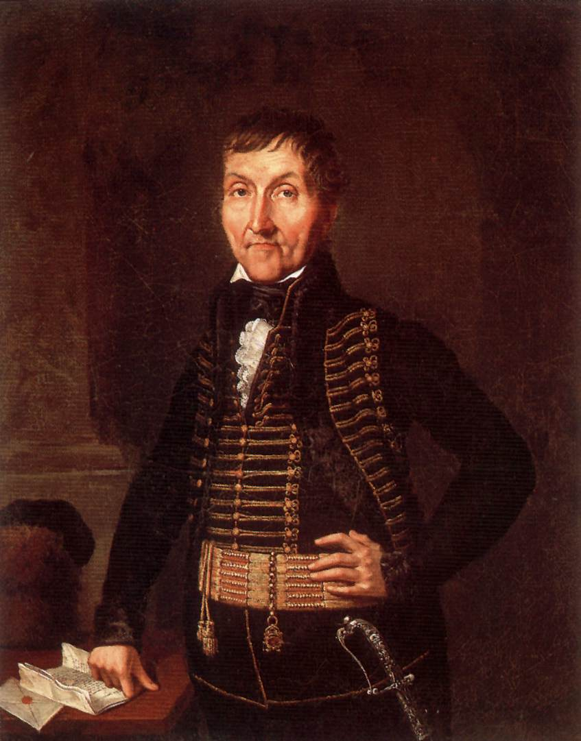 Portrait of a Nobleman 1822 | Janos Rombauer | Oil Painting
