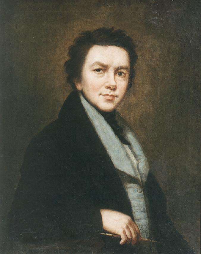 Portrait of a Man 1846   Janos Rombauer   Oil Painting