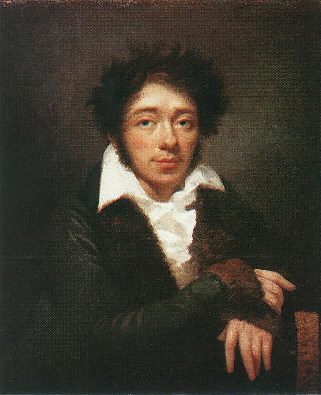 Portrait of a Man 1813   Janos Rombauer   Oil Painting
