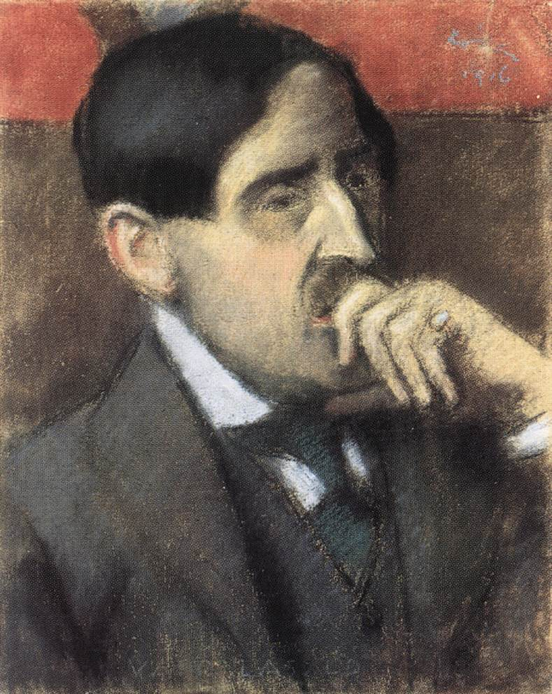 Portrait of Laszlo Vago 1916 | Jozsef Ronal Rippl | Oil Painting