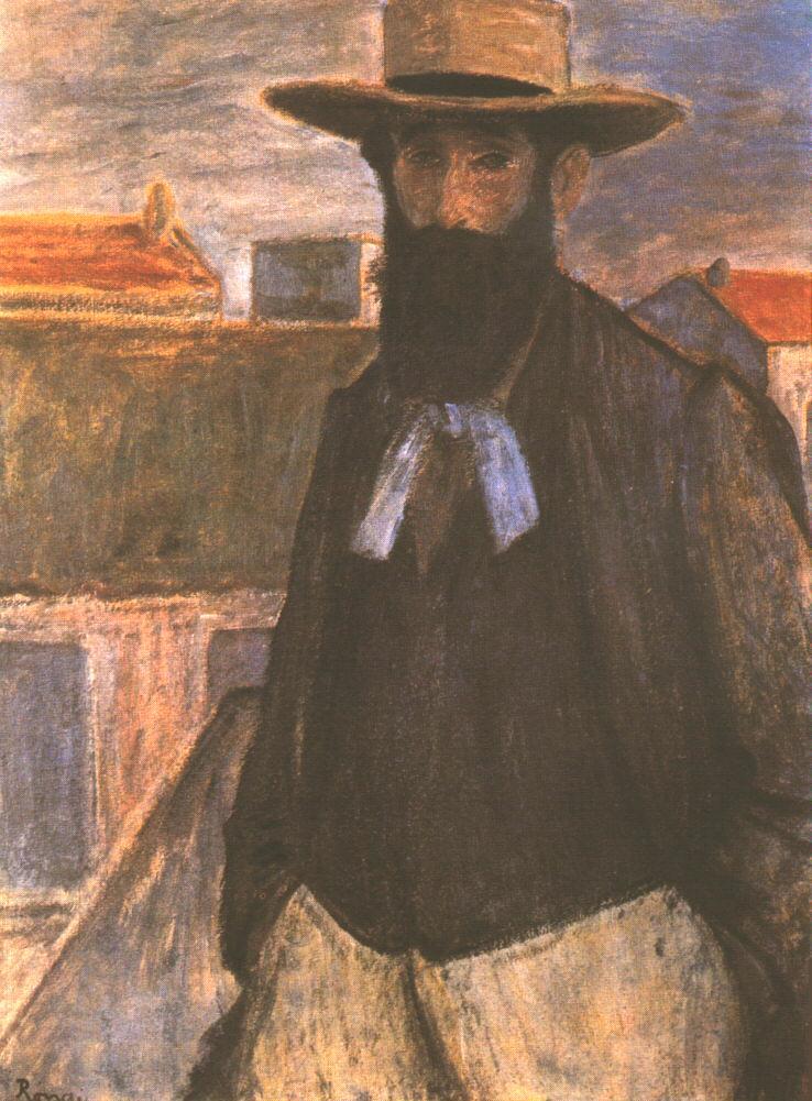 Portrait of Aristide Maillol 1899 | Jozsef Ronal Rippl | Oil Painting