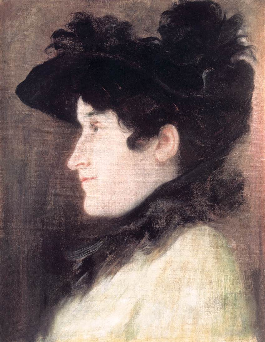 Female Portrait 1889 | Jozsef Ronal Rippl | Oil Painting