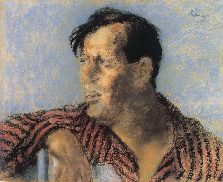 Frigyes Karinthy 1925   Jozsef Ronal Rippl   Oil Painting