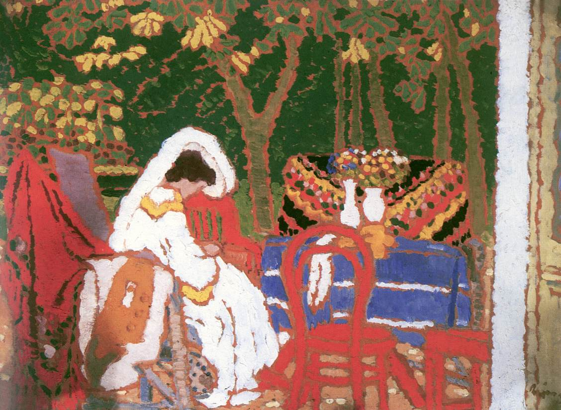 In the Garden 1909 | Jozsef Ronal Rippl | Oil Painting