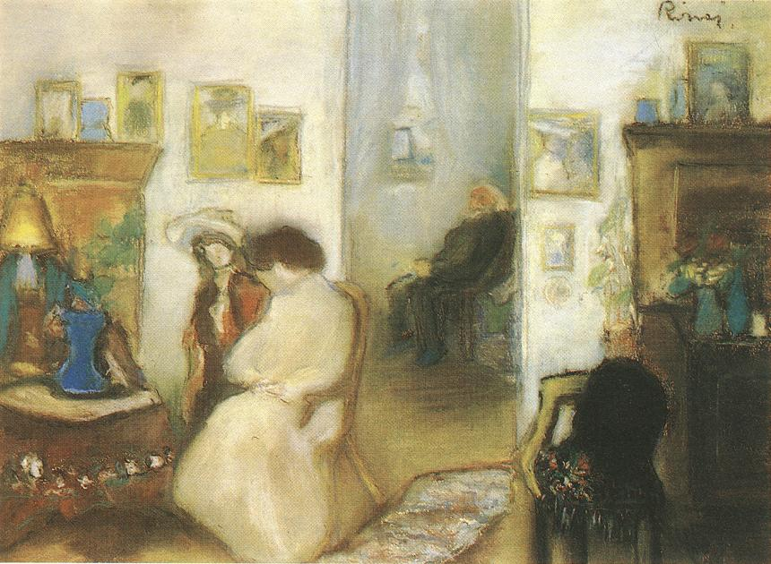 Interior 1912 | Jozsef Ronal Rippl | Oil Painting