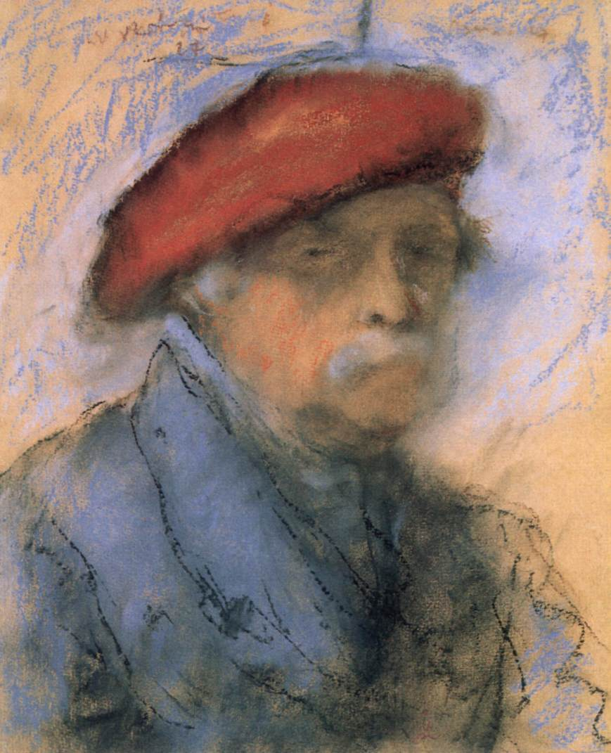 Last Self portrait 1927 | Jozsef Ronal Rippl | Oil Painting