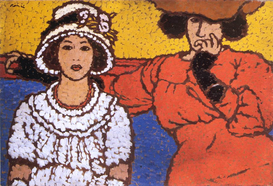 Lazarine and Anella 1911 | Jozsef Ronal Rippl | Oil Painting
