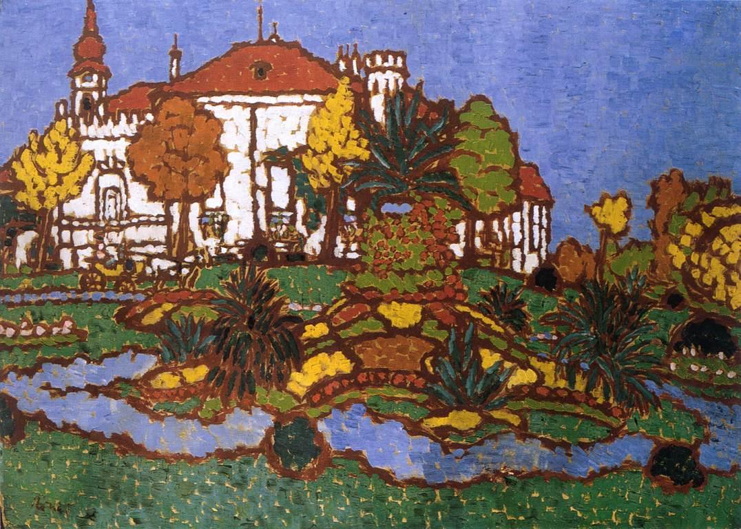 Mansion at Geszt 1912 | Jozsef Ronal Rippl | Oil Painting