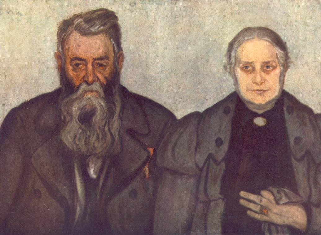 My Father and My Mother 1897 | Jozsef Ronal Rippl | Oil Painting