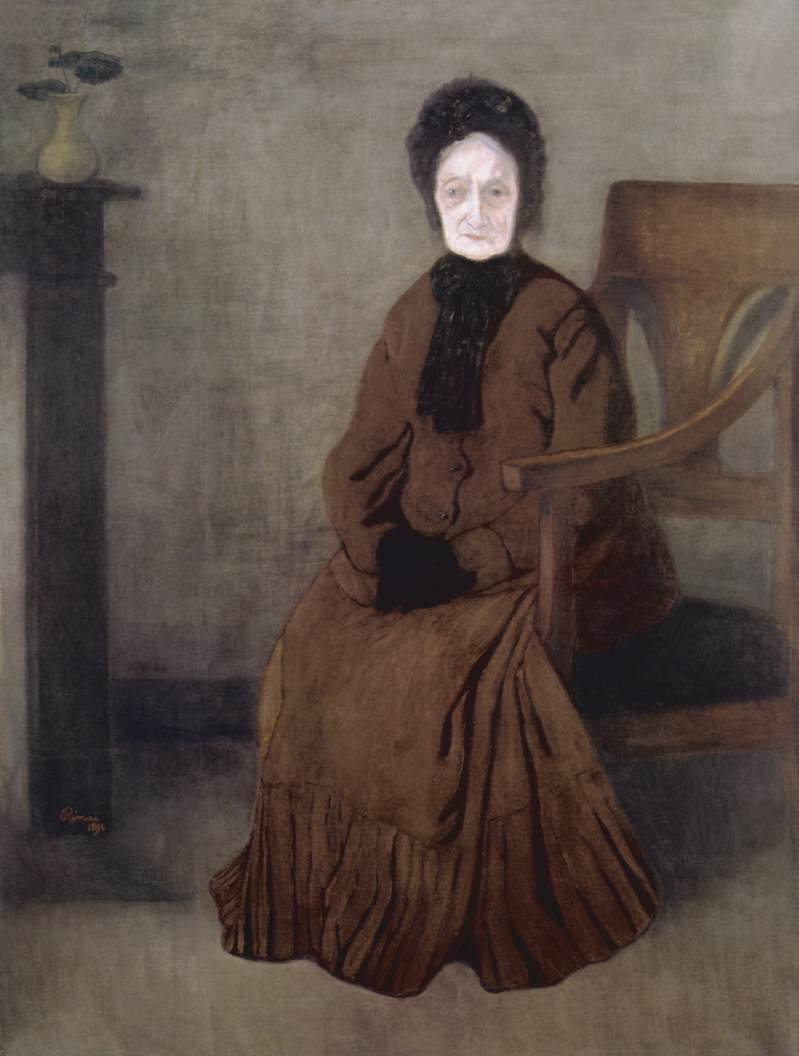 My Grandmother 1894 | Jozsef Ronal Rippl | Oil Painting