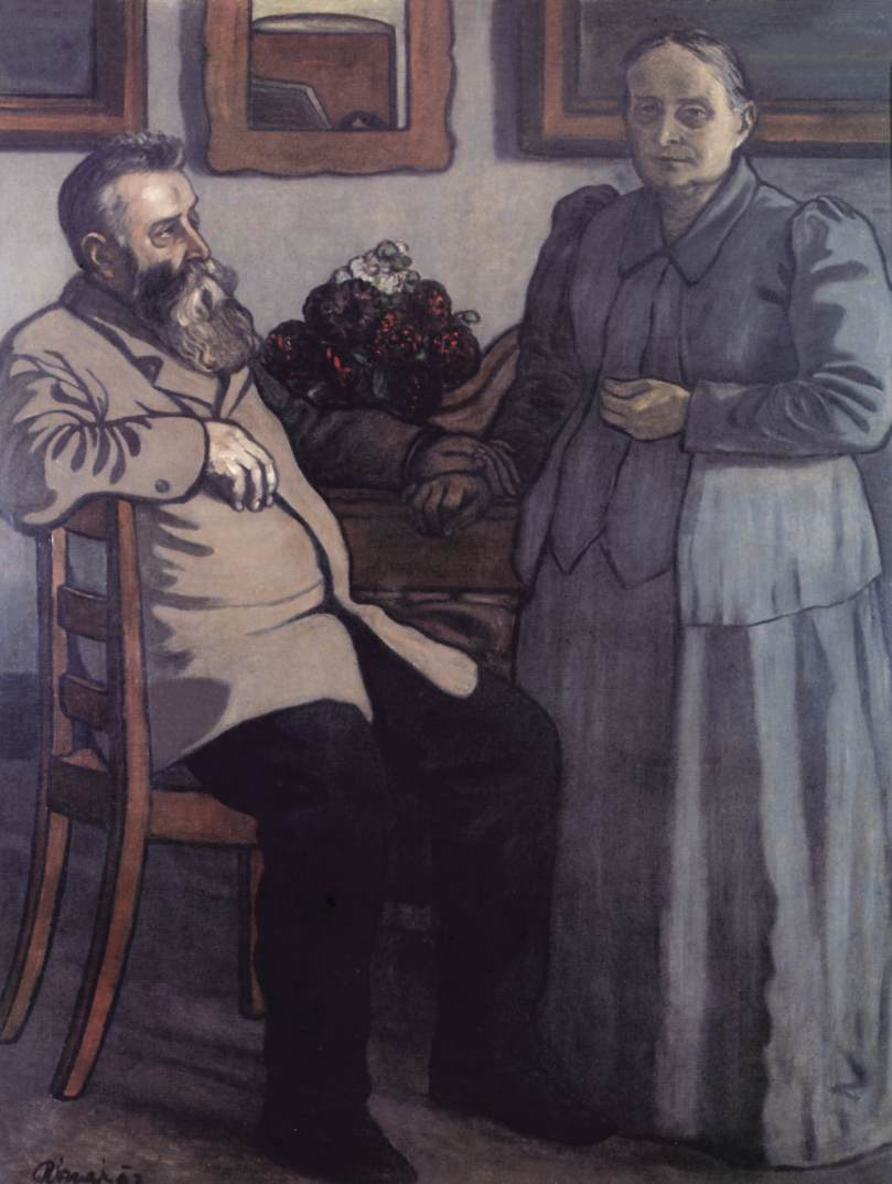My Parents after Fourty Years of Marriage 1897 | Jozsef Ronal Rippl | Oil Painting