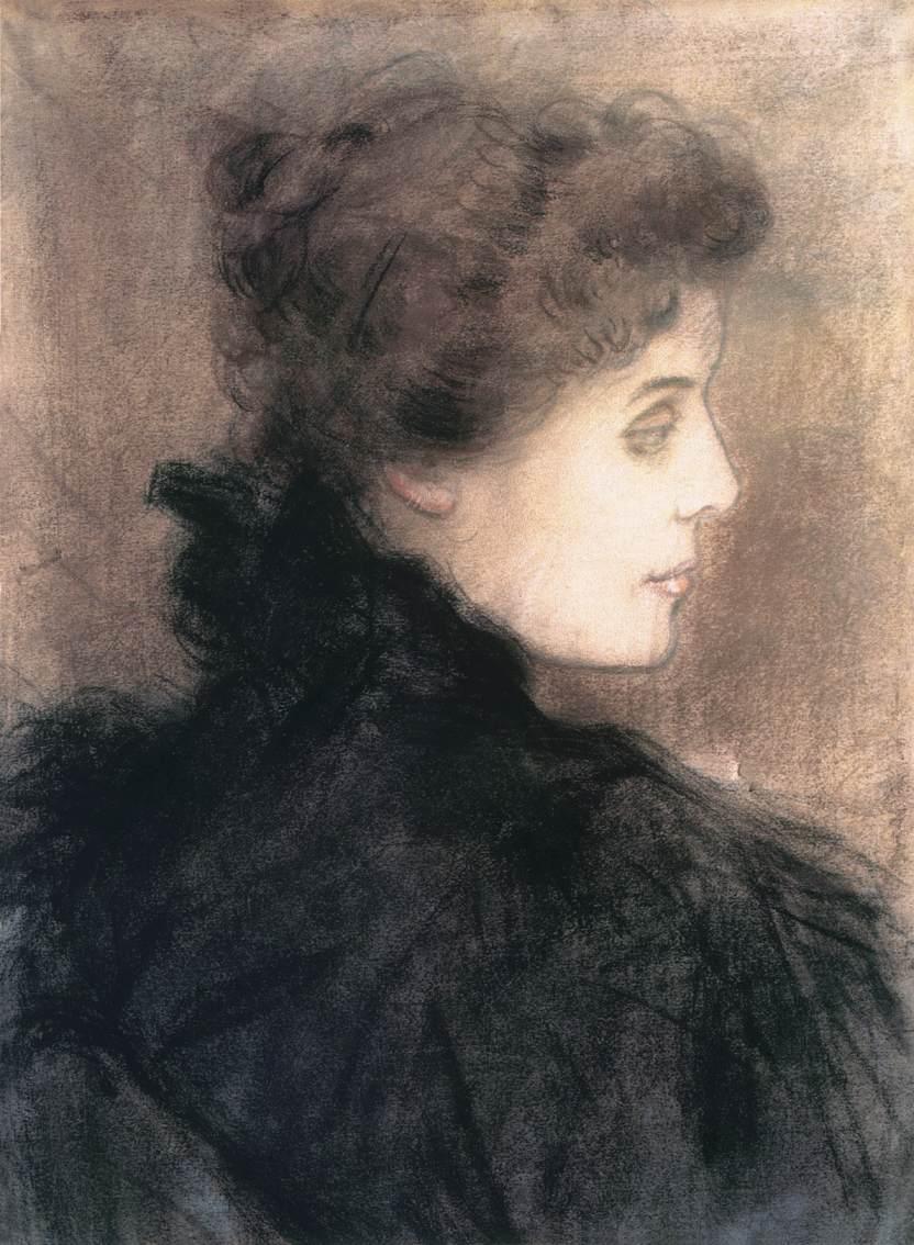 CountessTivadar Andrassy 1896 | Jozsef Ronal Rippl | Oil Painting
