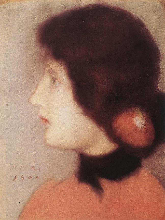 Cleo de Merode's Kin 1901 | Jozsef Ronal Rippl | Oil Painting