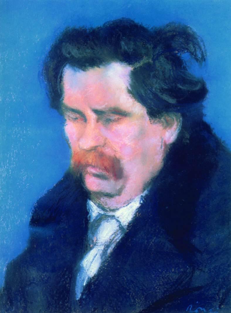 Zsigmond Moricz 1923 | Jozsef Ronal Rippl | Oil Painting