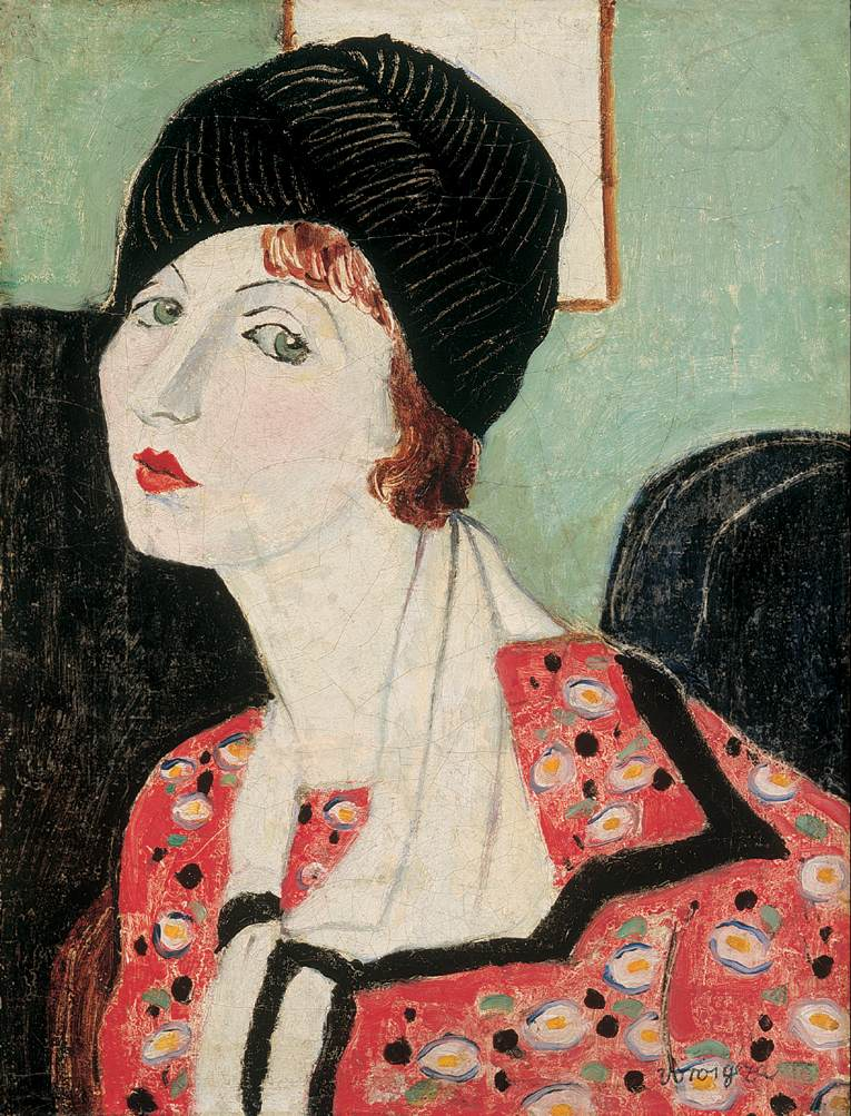 Portrait of My Wife 1920s | Geza Voros | Oil Painting