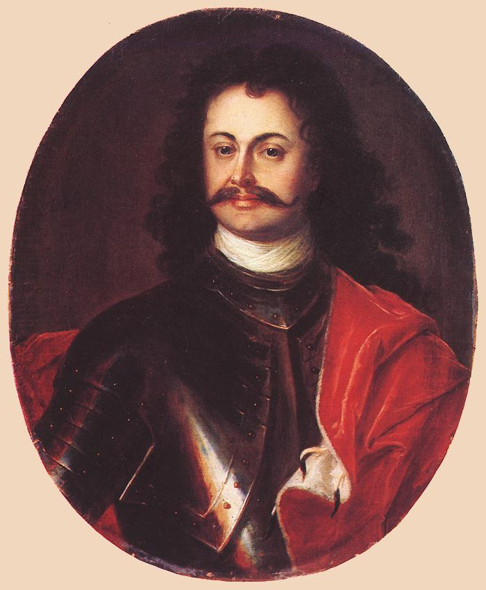 Portrait of Ferenc Rakoci II 1710s | David Richter The Elder | Oil Painting