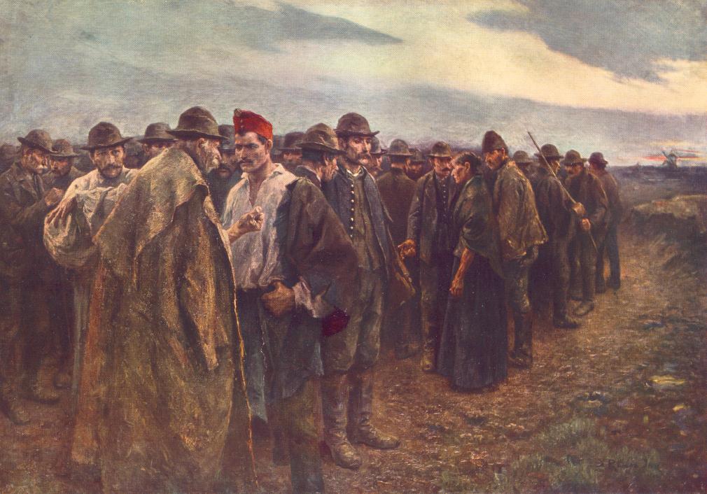 Panem! (Bread!) 1899 | Imre Revesz | Oil Painting