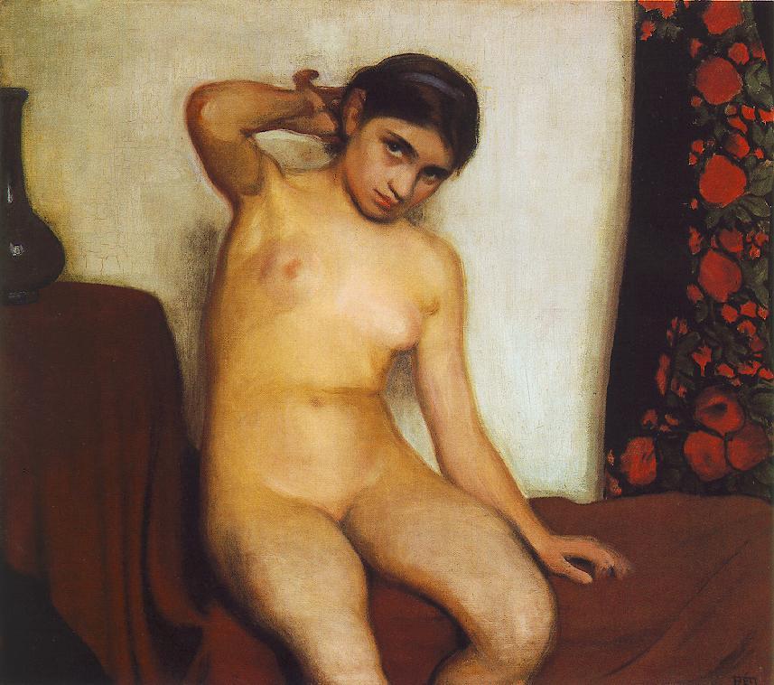Gipsy Girl 1912   Istvan Reti   Oil Painting