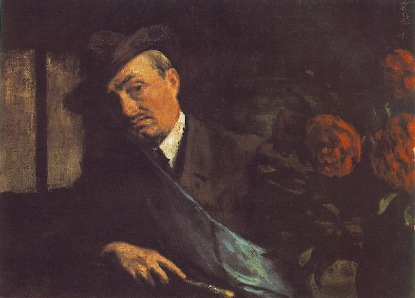 Self portrait 1920   Istvan Reti   Oil Painting