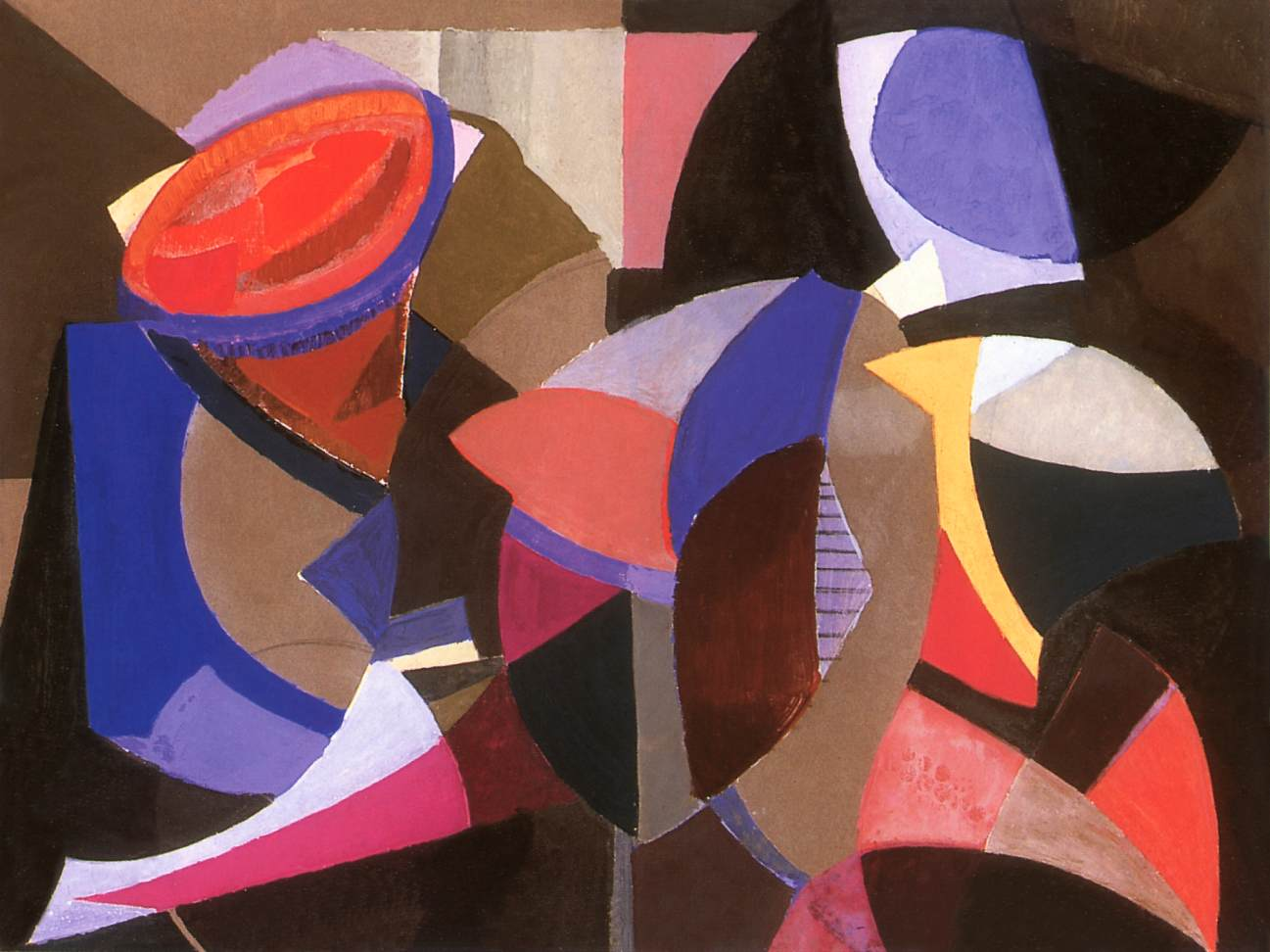 Composition 1956 | Alfred Reth | Oil Painting