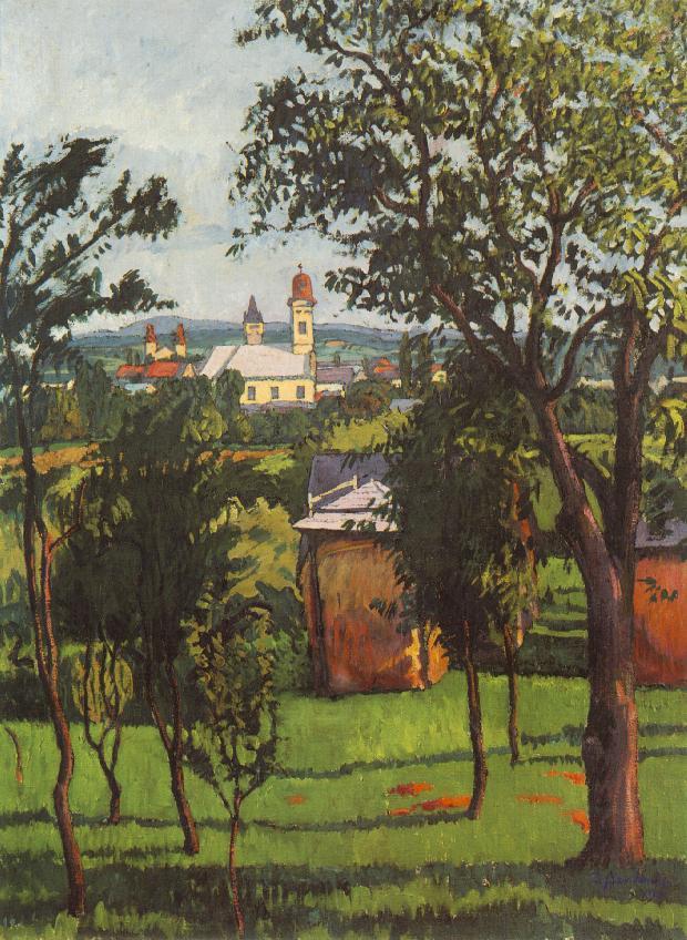 Landscape 1913 | Sandor Ziffer | Oil Painting