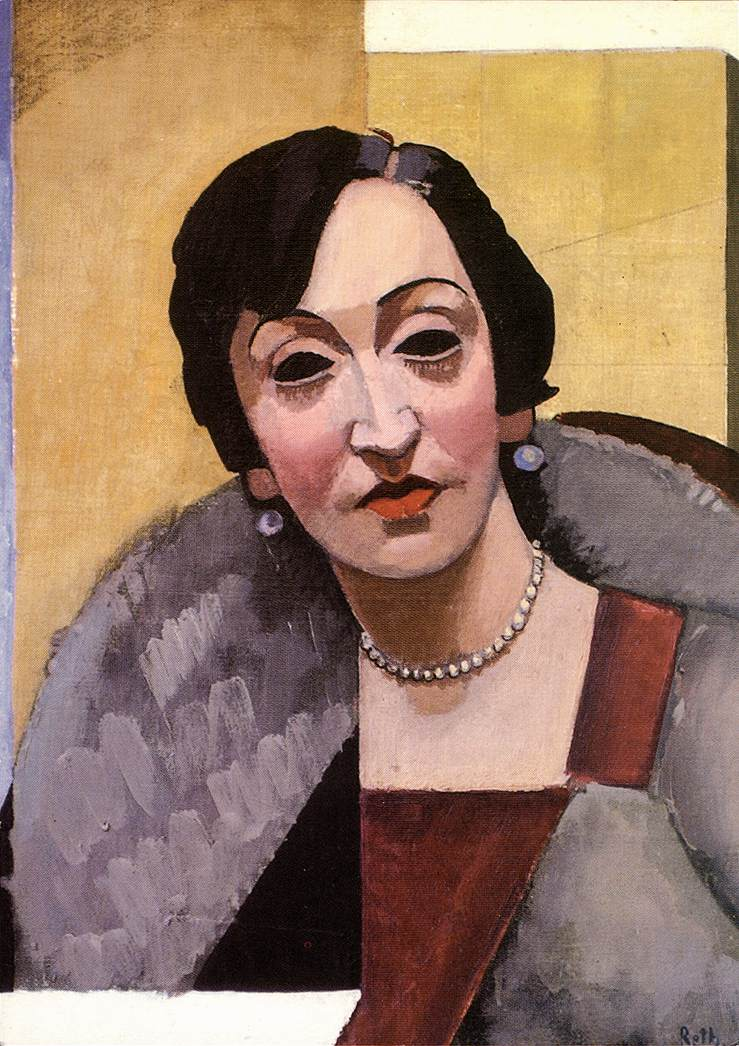 Woman with Necklace 1927 | Alfred Reth | Oil Painting