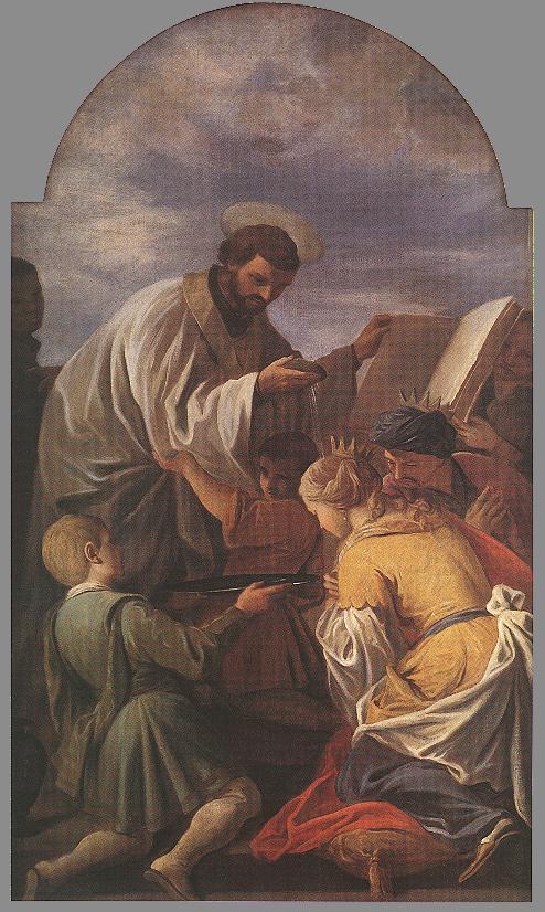 Saint Francis Xavier 1701 | Andrea Pozzo | Oil Painting