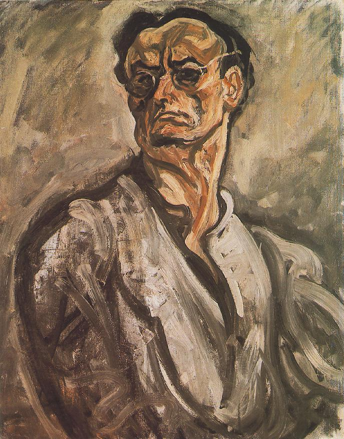 Self portrait 1910s | Bertalan Por | Oil Painting