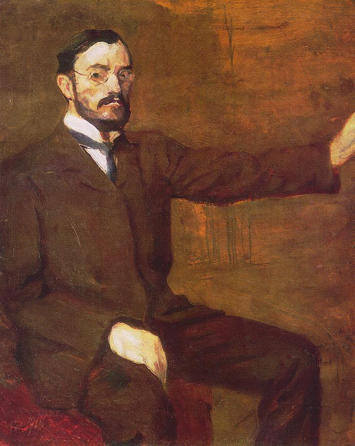 Self portrait 1907 | Bertalan Por | Oil Painting