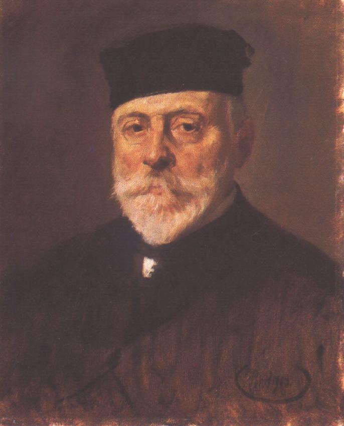 Portrait of odon Lechner 1909 | Bertalan Por | Oil Painting