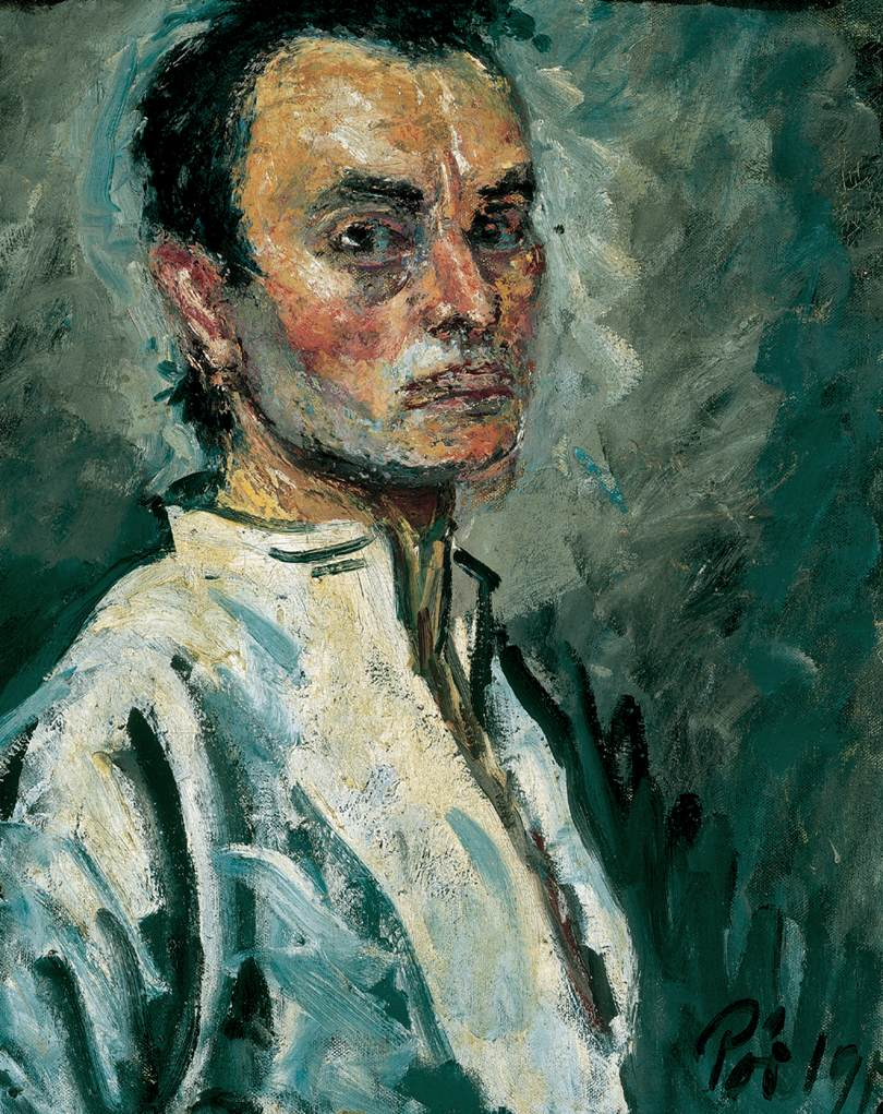 Portrait of a Man 1912 | Bertalan Por | Oil Painting