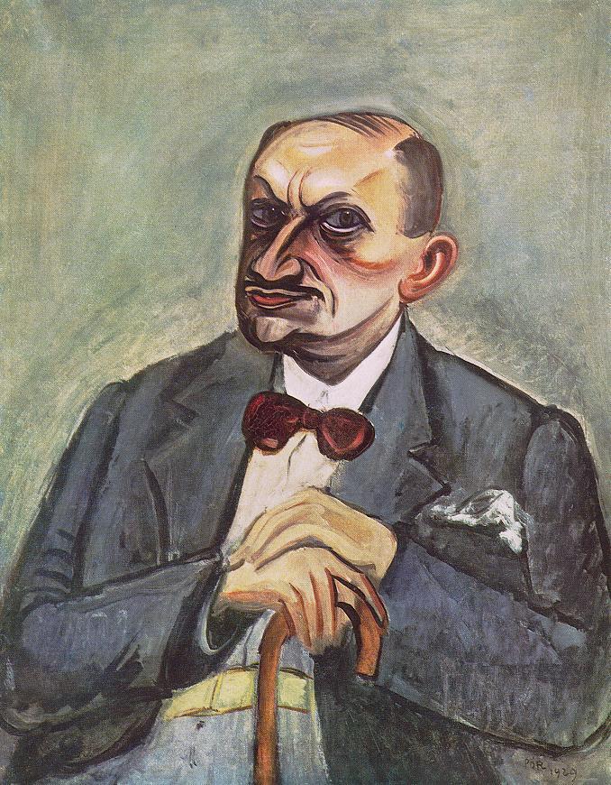 Notary Wetzler 1929 | Bertalan Por | Oil Painting