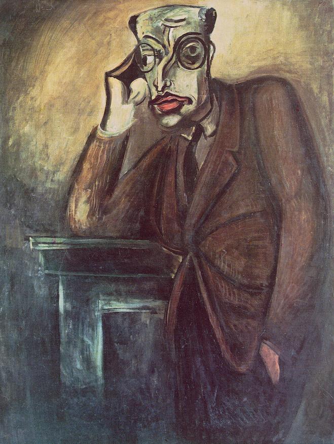 Mihaly Karolyi 1930 | Bertalan Por | Oil Painting