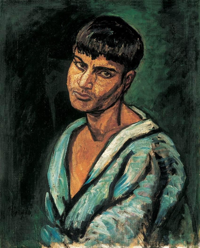 Gypsy Boy 1910 | Bertalan Por | Oil Painting