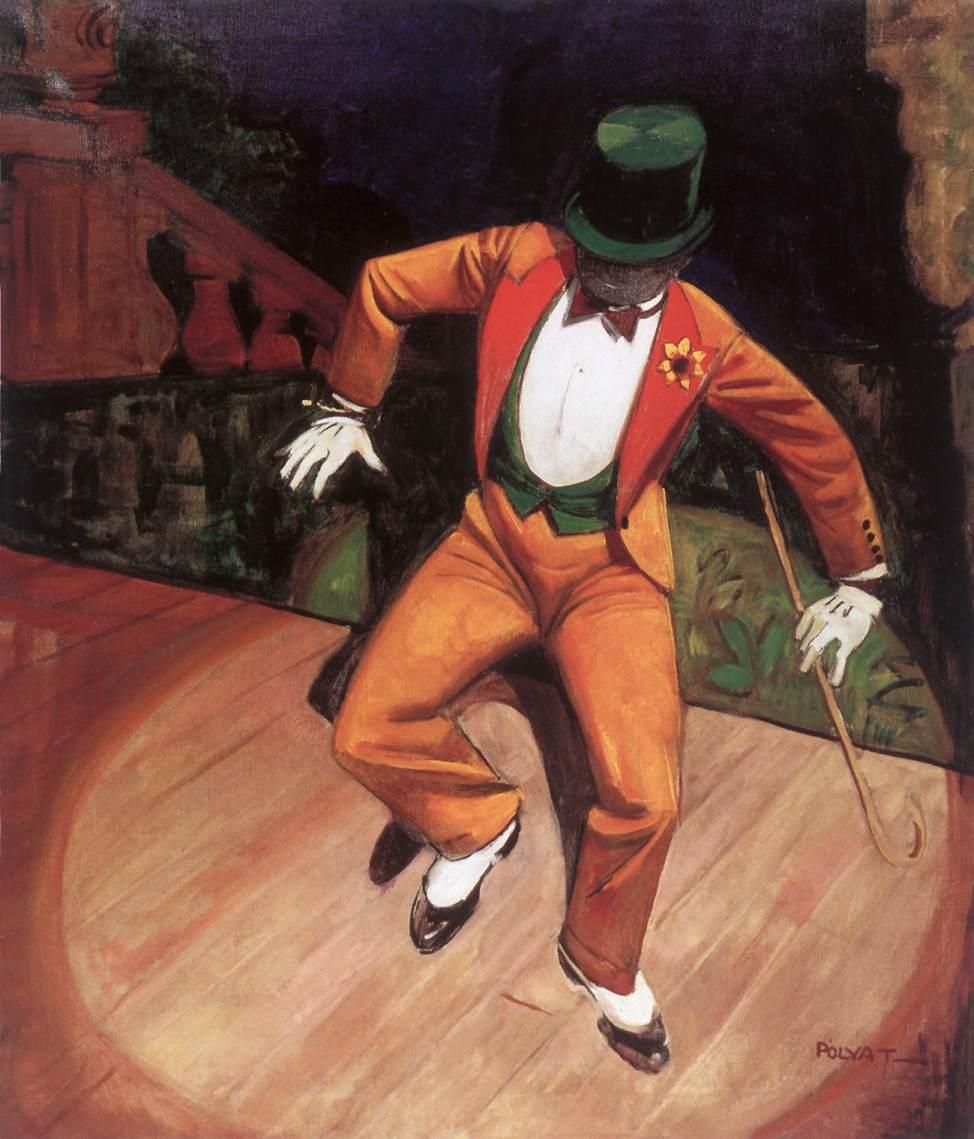 Dancer   Tibor Polya   Oil Painting