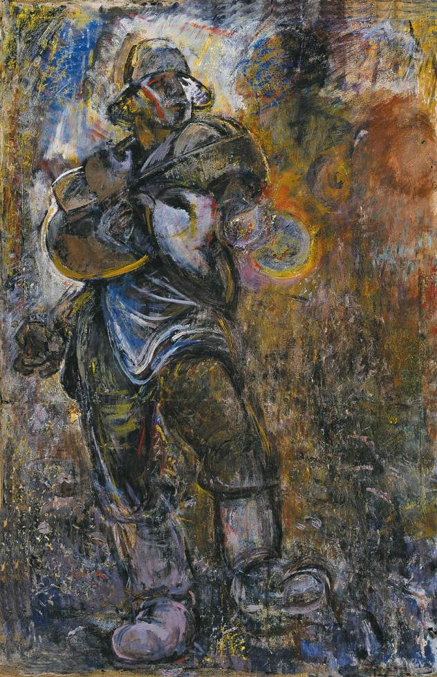 Sower 1970 | Janos Pirk | Oil Painting
