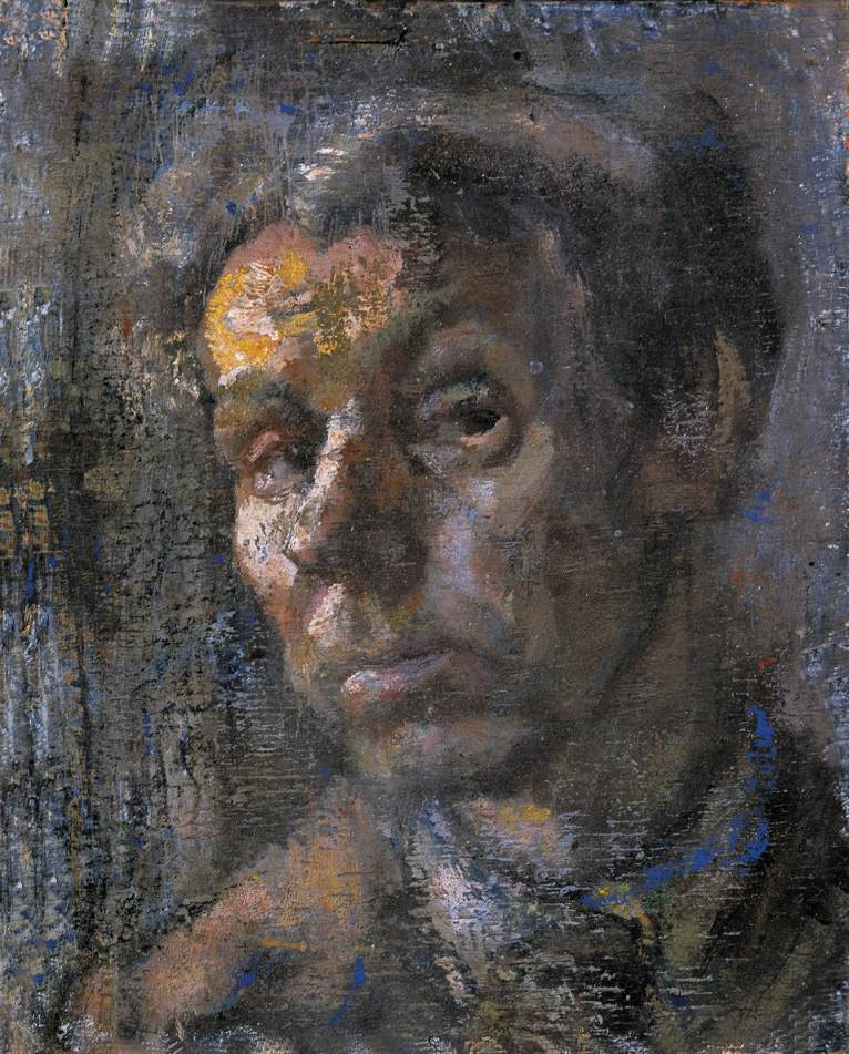 Self portrait 1960 | Janos Pirk | Oil Painting