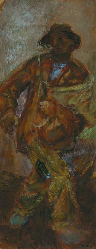 Seedsman 1957 | Janos Pirk | Oil Painting