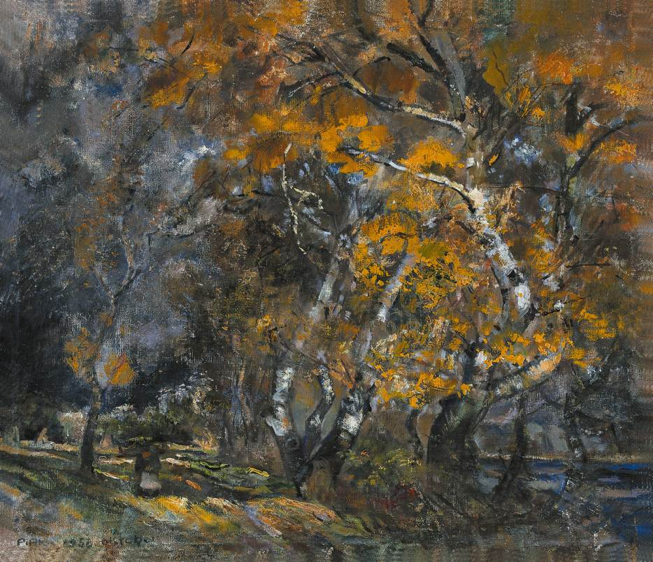 October 1956 | Janos Pirk | Oil Painting