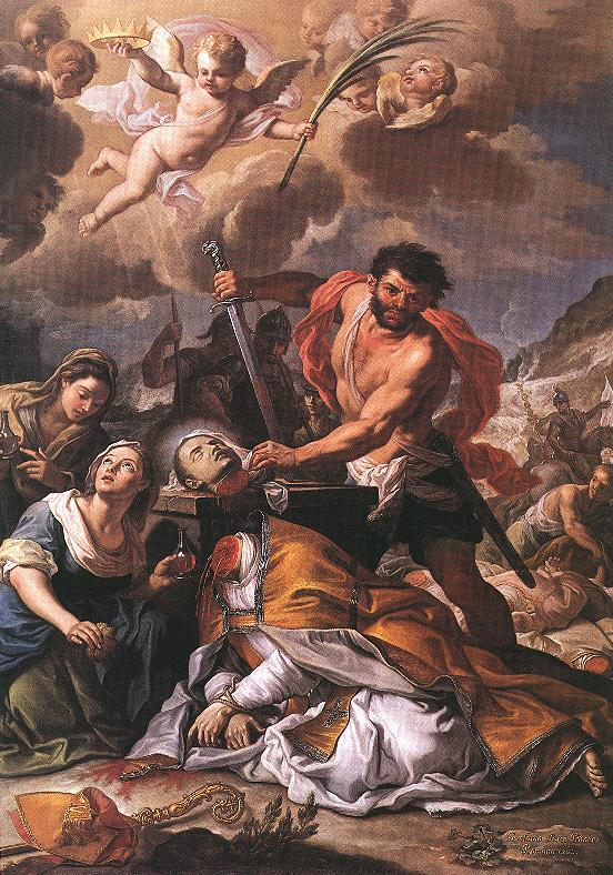 Martyrdom of Saint Januarius 1727 | Girolamo Pesce | Oil Painting