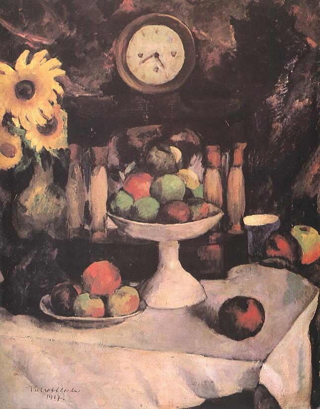 Still life 1917 | Vilmos Csaba Perlrott | Oil Painting